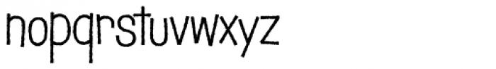 Schnitzle AOE Font LOWERCASE