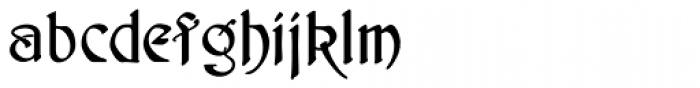Schnorr Demi Bold Font LOWERCASE