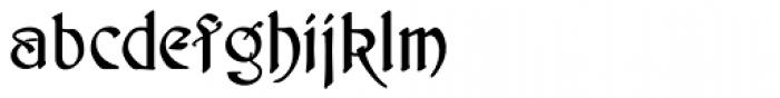 Schnorr Initialen Font LOWERCASE