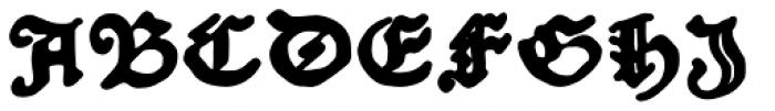 Schoensperger Der Altere Bold Font UPPERCASE