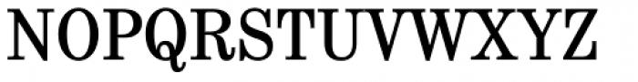 School Book Cond Regular Font UPPERCASE