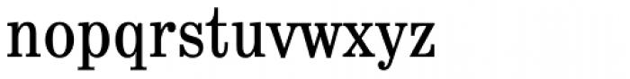 School Book Cond Regular Font LOWERCASE