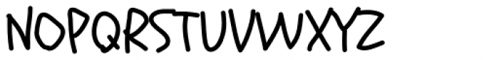 Schoolbell Pro Font UPPERCASE