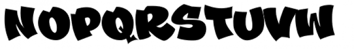 Schools Out Solid Font UPPERCASE