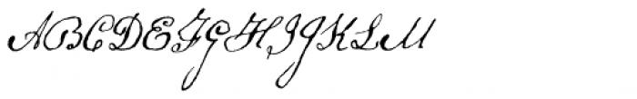 Schooner Script Font UPPERCASE