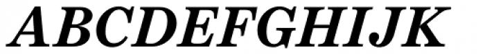 Schotis Text Bold Italic Font UPPERCASE