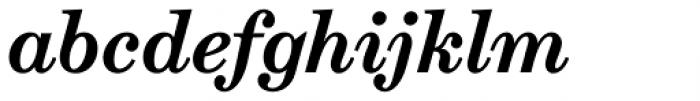 Schotis Text Bold Italic Font LOWERCASE