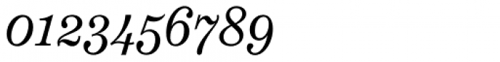 Schotis Text Light Italic Font OTHER CHARS