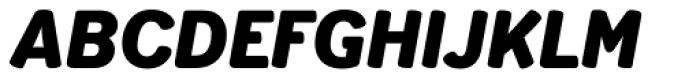 Schueller BQ Bold Font UPPERCASE