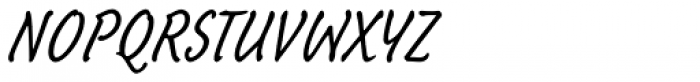 Schuss Hand Std Font UPPERCASE