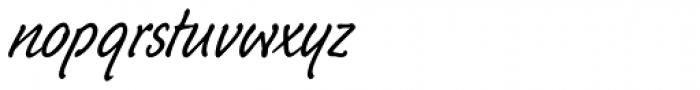 Schuss Hand Std Font LOWERCASE