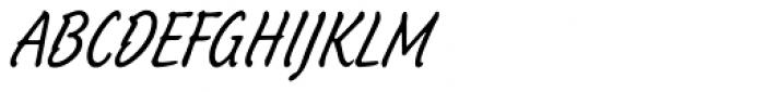 Schuss Hand Font UPPERCASE