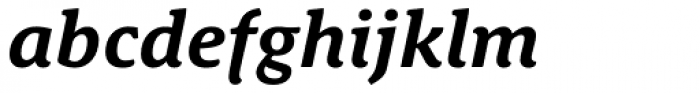 Schuss News Pro Bold Italic Font LOWERCASE