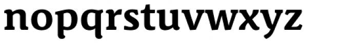 Schuss News Pro Bold Font LOWERCASE