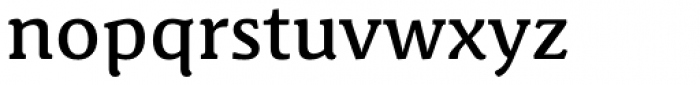 Schuss News Pro Medium Font LOWERCASE