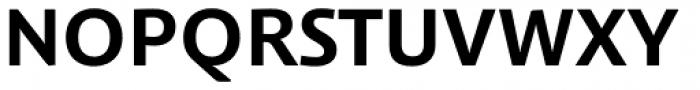 Schuss Sans PCG Bold Font UPPERCASE
