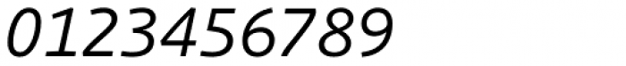 Schuss Sans PCG Italic Font OTHER CHARS
