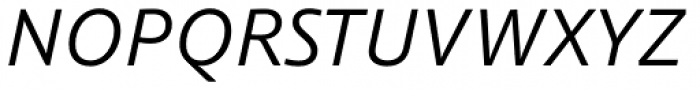 Schuss Sans PCG Italic Font UPPERCASE