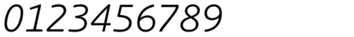 Schuss Sans PCG Light Italic Font OTHER CHARS