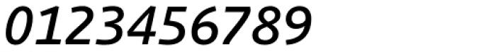 Schuss Sans PCG Medium Italic Font OTHER CHARS