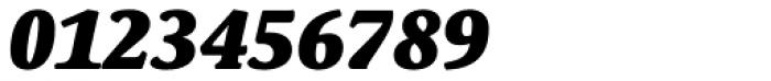 Schuss Serif Pro Heavy Italic Font OTHER CHARS