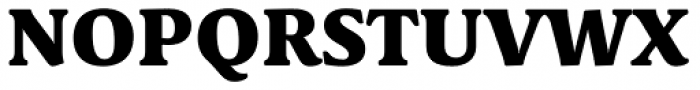 Schuss Serif Pro Heavy Font UPPERCASE