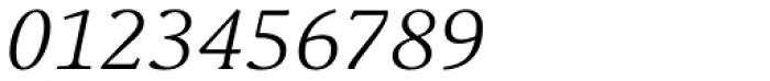 Schuss Serif Pro Light Italic Font OTHER CHARS