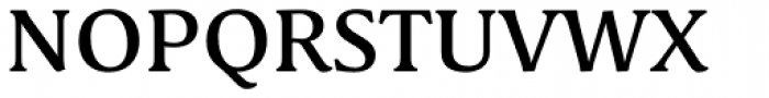 Schuss Serif Pro Medium Font UPPERCASE