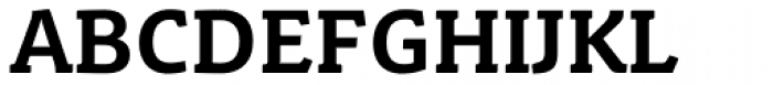 Schuss Slab Pro Bold Font UPPERCASE
