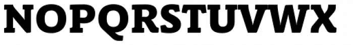 Schuss Slab Pro Heavy Font UPPERCASE