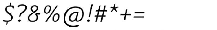 Schuss Slab Pro Light Italic Font OTHER CHARS