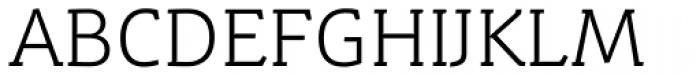 Schuss Slab Pro Light Font UPPERCASE