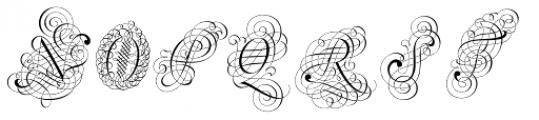 Schwandner Versalia Font LOWERCASE
