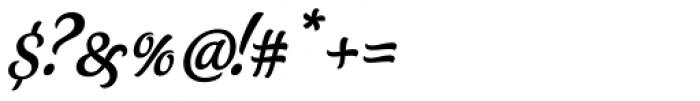 Schwung Alternate Font OTHER CHARS