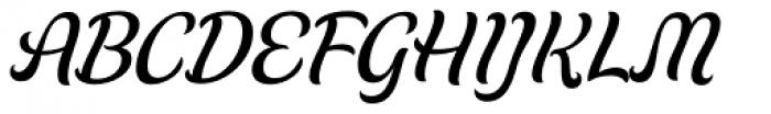 Schwung Font UPPERCASE