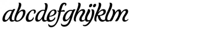 Schwung Font LOWERCASE