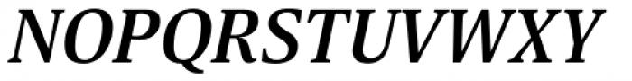 Scientia Bold Italic Font UPPERCASE