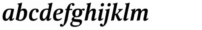 Scientia Bold Italic Font LOWERCASE