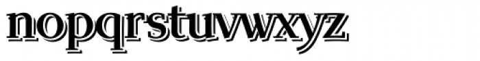 Scintilla Pro Echo Font LOWERCASE