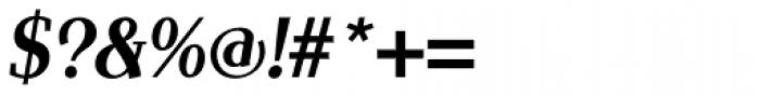 Scintilla Pro Medium Italic Font OTHER CHARS