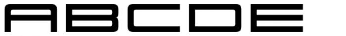 Scion 650 R Bold Font UPPERCASE