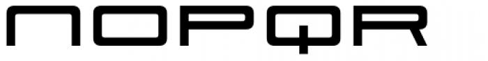 Scion 650 R Bold Font LOWERCASE