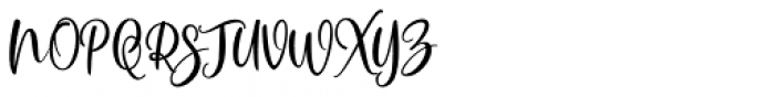 Scoothlane Script Regular Font UPPERCASE