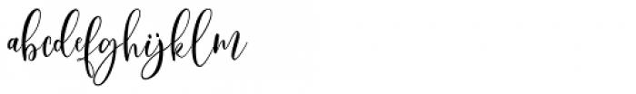 Scoothlane Script Regular Font LOWERCASE
