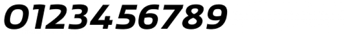 Scorno Semi Bold Italic Font OTHER CHARS
