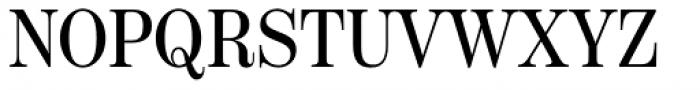 Scotch Deck Condensed Roman Font UPPERCASE