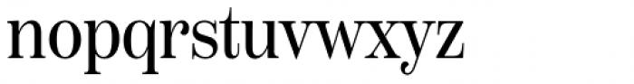 Scotch Deck Condensed Roman Font LOWERCASE