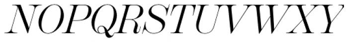Scotch Display Italic Font UPPERCASE