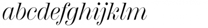 Scotch Display Italic Font LOWERCASE
