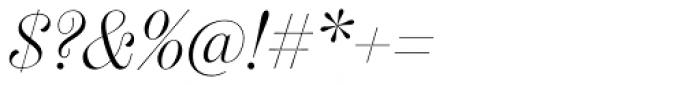 Scotch Display Light Italic Font OTHER CHARS